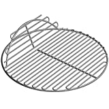 SELEWARE SUS304 Stainless Steel Round Grid Hinged Cooking Grate Replacement for Large Big Green Egg...