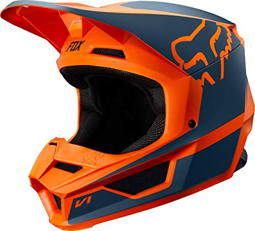 Fox Helmet Junior V-1 Przm Orange Ys