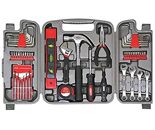 Apollo Tools DT9408 53 Piece Household Tool Set with Wrenches, Precision Screwdriver Set and Most...