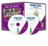 Grow Young Fitness Chair Exercises for Seniors - Two Disc Chair Yoga DVD - Simple Safe Effective Chair Yoga DVD for Elderly…