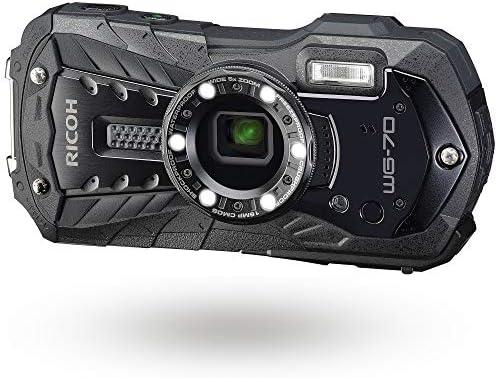 Ricoh RICOH WG 70 Black Waterproof Digital Camera 16MP High Resolution Images Waterproof 14m product image