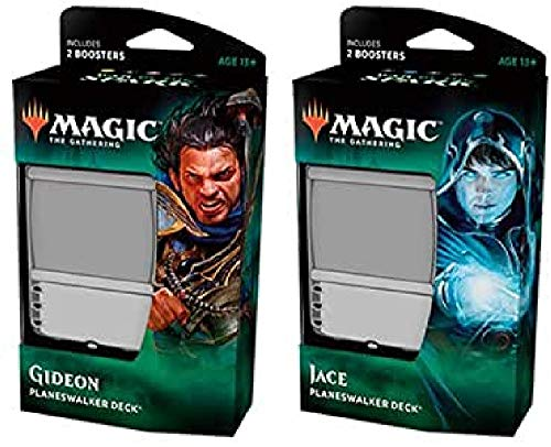 Magic The Gathering C57800000 War of The Spark-Planeswalker Deck - Expositor de Cartas (6 Unidades)