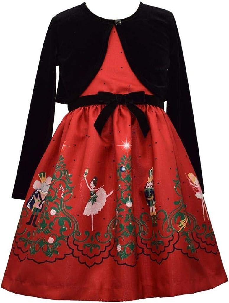 税込 Christmas Nutcracker Ballet Print Shantung and 『4年保証』 Velvet Dress Card