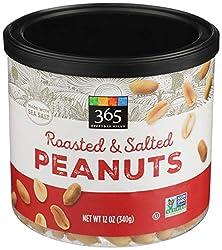 365 Everyday Value, Peanuts, Roasted & Salted, 12 oz