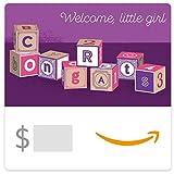Amazon eGift Card - Baby Girl Blocks