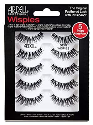 Ardell False Eyelashes Natural & Wispies Strip Lashes 5 pairs in one pack