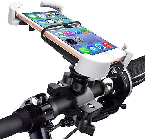 Quntis Fahrrad Handyhalterung, 360 Grad drehbare Fahrrad Halter kompatibel mit iPhone SE 2020/ SE/ 8/7/ 6s Plus/ 6,Samsung Galaxy J2/ J3/ C5/ S5/ S6