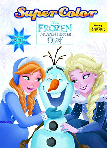 Frozen. Una aventura de Olaf. Supercolor: ¡Con muchas pegatinas de regalo! (Disney. Frozen)