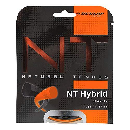 Dunlop Unisex– Erwachsene Revolution Natural Hybrid Tennis Saite, schwarz, One Size