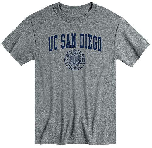 Ivysport UC San Diego UCSD King Tritans Short-Sleeve T-Shirt, Heritage, Charcoal Heather, X-Large