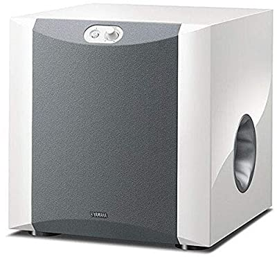 Yamaha ns-sw300Front Firing-Subwoofer con valvola Twisted Flare Port Bass Reflex tubo