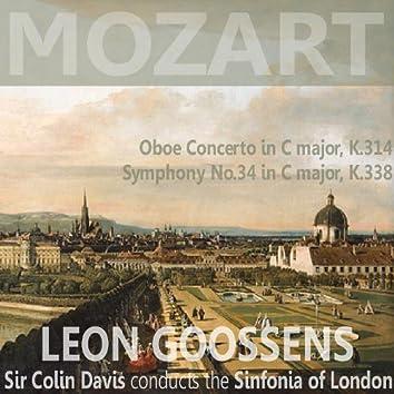 Mozart: Oboe Concerto in C Major, K. 314: Symphony in C Major,  No. 34,  K. 338