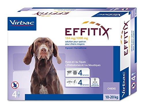 Virbac Effitix 4 Pipettes 10-20 Kg