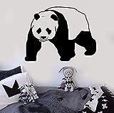 yaonuli Vinilos Decorativos de Vinilo Adhesivos extraíbles de Panda Adhesivos Decorativos para Habitaciones de niños 57X44cm