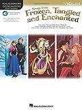Songs from Frozen, Tangled & Enchanted - Violin: Instrumental Play-Along (Hal Leonard Instrumental Play-along)