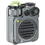Bluetooth Speaker, MUZEN Wild Mini Portable Bluetooth Speaker with IPX5 Waterproof, Loud Volume, Stereo Sound, 5.0 Wireless Bluetooth Speaker for Outdoor, Travel (Grey)