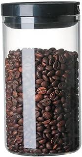 shopparadise 食品ガラス保存容器 密封型食品貯蔵タンク 角型容器 500ml/750ml/950ml 規格多い 清潔便利 透明 乾物保存 大容量 茶筒 キッチン用食品貯蔵タンク