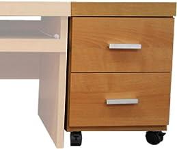 家具工場直販 高級素材(デルナチュレ化粧合板) フロア ロータイプ用 ワゴン (ナチュラル/単品) 日本製 サイドワゴン キャビネット 家具ファクトリー