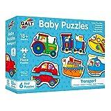 Galt America- Bambi Toys Puzles Infantiles - Transport, Multicolor G053037