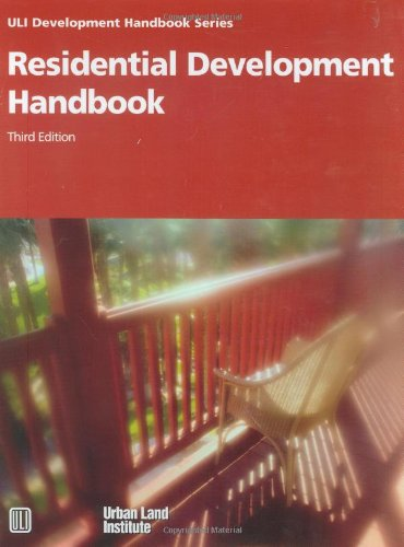 Residential Development Handbook (Development Handbook series)