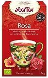 Yogi Tea Infusión de Hierbas Rose - 17 bolsitas