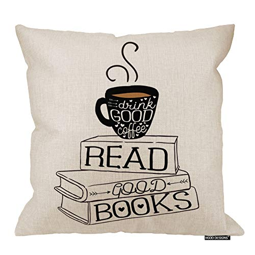Pillows With Coffee-Related Quote