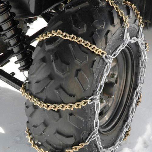 Kolpin 50-0020 V-Bar 9in Tire Chains Fits Up to 25x8-12 25x8-14 Tires ATV UTV