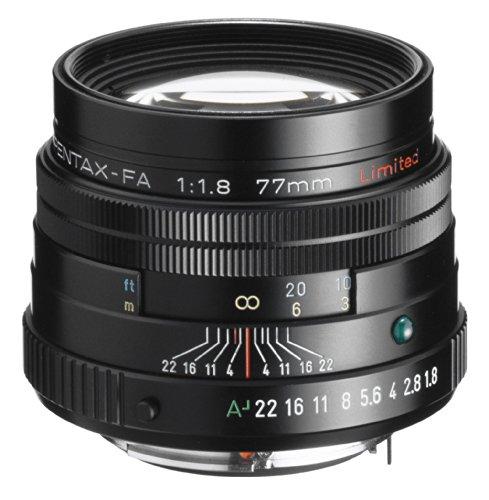 Pentax FA 77mm smc F1.8 Limited Objektiv schwarz