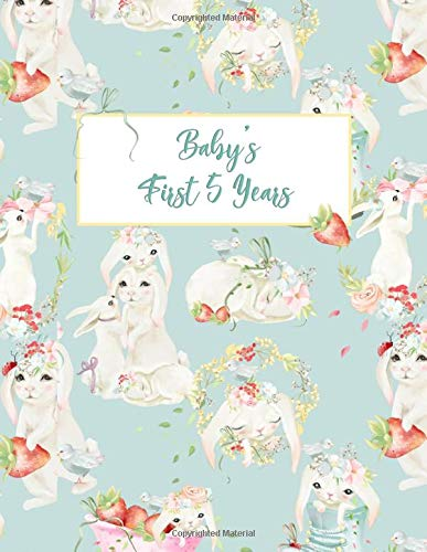 Baby's First 5 Years: The Complete Memory Book and Journal for Adopted Babies and Toddlers born Out