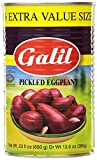 Pack of Twelve, 23-Ounce Cans (Total 276 oz) Galil Pickled Eggplant 20% Extra Value Size Perfect condiment to any meal!; Certified Kosher Product of Israel