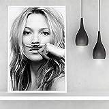 zhuziji Canvas Moderne Kate Ann Moss Poster und Drucke mit