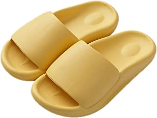 SalLady Bathroom Slippers Quick Dry Breathable Nonskid Thickened Solid Color Soft Flexible Shower Slippers Scratchproof