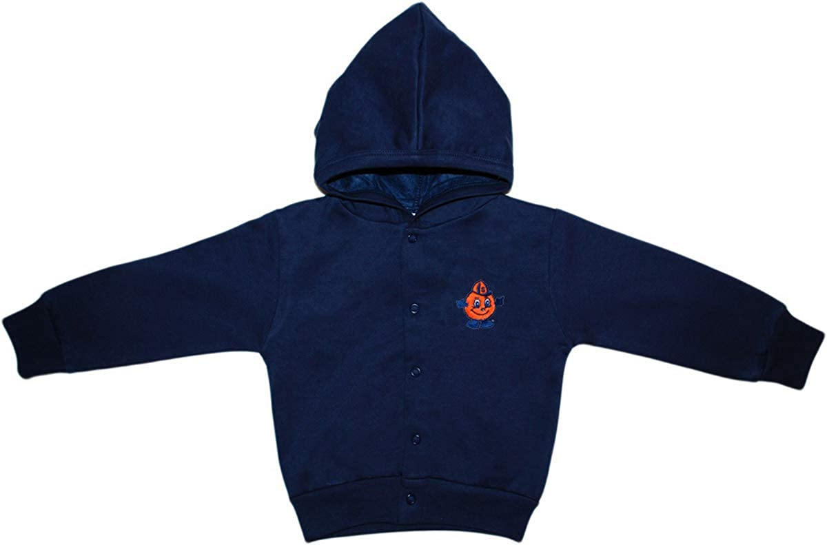 5% OFF Syracuse University 5 ☆ very popular Baby and Jacket Toddler Snap Hooded
