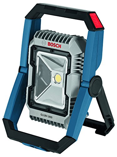 Bosch GLI18V-1900N 18V LED Floodlight (Bare Tool), Blue,6 Ah