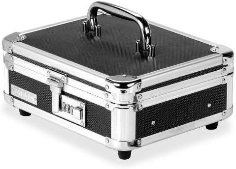 Vaultz Locking Cash Ranking TOP9 Choice Box Black VZ01002 Chrome