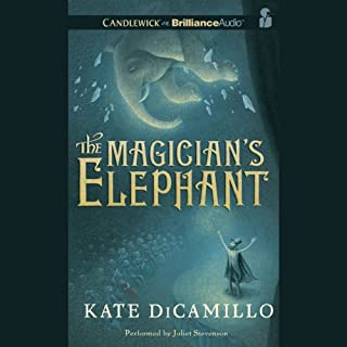 The Magician's Elephant cover art