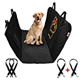 PET'ALMI - Dog Back Seat Cover Protector for Car Simple Type Waterproof Scratchproof Nonslip Protection Against Dirt and Pet Fur Durable Pet Seat Cover for Cars & SUV's with Logo I Love My Labrador