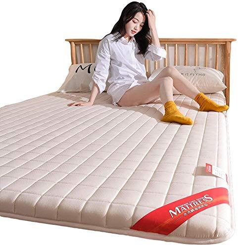 ZXL gestoffeerde matras voor dikke matras, voor tweepersoonsbed, van katoen, aerobic, slaapbank