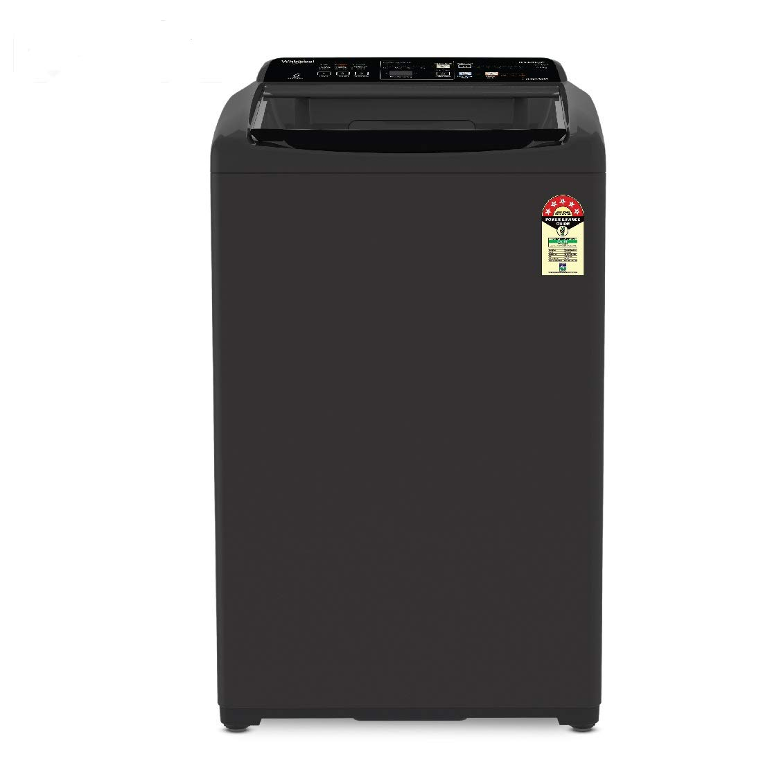 Whirlpool 6.5 kg 5 Star Fully-Automatic Top Loading Washing Machine with In-Built Heater (White magic Elite Plus, Grey) 1