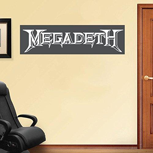 Megadeth Music Set of 2 Home Decor Art Wall Vinyl Sticker 63...
