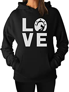 Love Horses - Animal Lover Rearing Horse - Gift for Horse Lover Women Hoodie