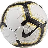 Nike NK Strk Ballon de Football Blanc/Noir/MTLC Vivid Gold/BL FR : L (Taille Fabricant : 5)