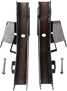 HEKA 2P Driver and Passenger Rear Trail Arm Frame Repair Fit for 1997-2006 Jeep Wrangler TJ