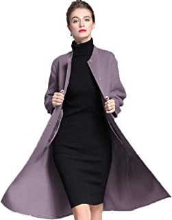 Double-faced woolen coat female autumn and winter warm Overcoat in the long paragraph cashmere coat women's clothing high-end winter thickened Outwear
