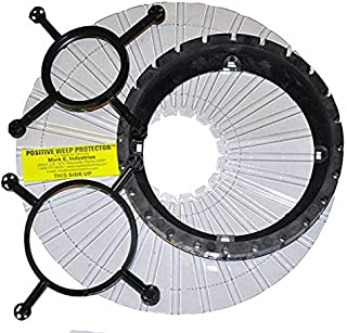 Quick Pitch Universal Center Ring QPUCR-108 With PWP-106 Positive Weep Hole Protector by Mark E Industries