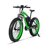 GUNAI Bicicletas Electricas Neumaticos Bicicleta 26 Pulgada 500w 48V 17AH Bateria Litio Frenos...
