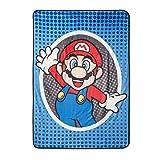 Super Mario Mr Mustache Throw Blankets Oversize