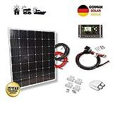 VIASOLAR Kit 200W Eco 12V Panel Solar monocristalino células alemanas