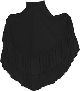 Basic Moves Big Girls Double Ruffle Flamenco Polyester Skirt
