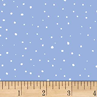 Windham Fabrics A Walk In The Woods Snow Blue, Fabric by the Yard